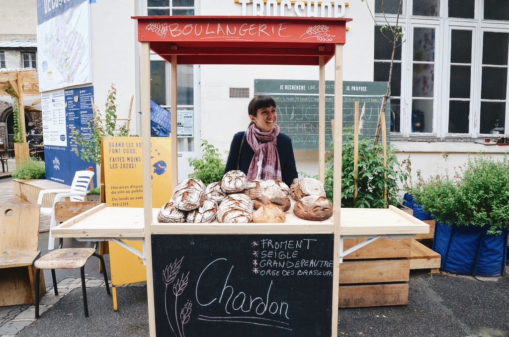 Le pain naturel de la Boulangerie Chardon aux Grands Voisins à Paris
