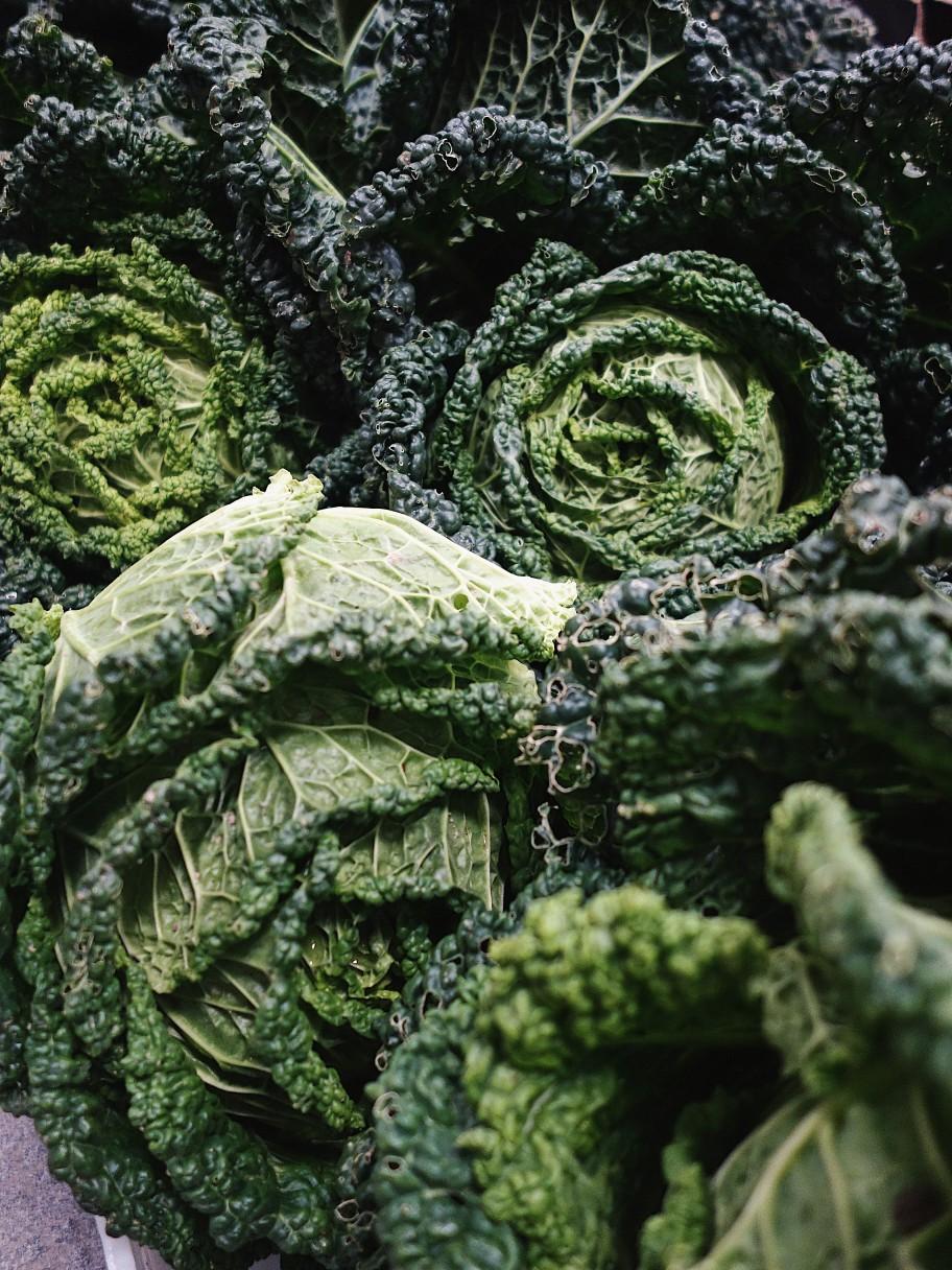 Les légumes d'automne du moment au restaurant Les Résistants